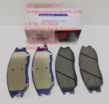 4813A21100 Brake Pad Set Front Stavic Rodius