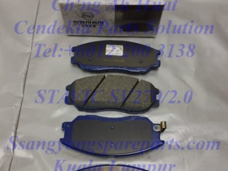 4813A21100 Brake Pad Set Frt Stavic Sv270 Sv2.0