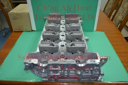 6640101220 6640101520 Cylinder Head Actyon Sports Kyron Actyon D20 Engine