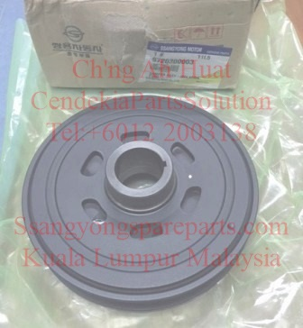 6710300303 6720300003 Damper Crankshaft Pulley Actyon Sports New Korando C Stavic 2.0 Rodius New