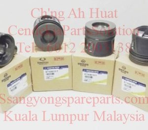 6710300717 6710301317 Piston & Ring Set STD 86.20mm A Grade Actyon Sports New Korando C Stavic 2014 2.0