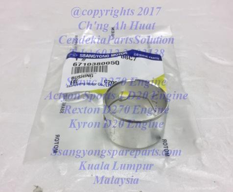 6650380250 6640380750 Bush Connecting Rod Rexton D270 Kyron D20 Stavic D270 Actyon Sports D20