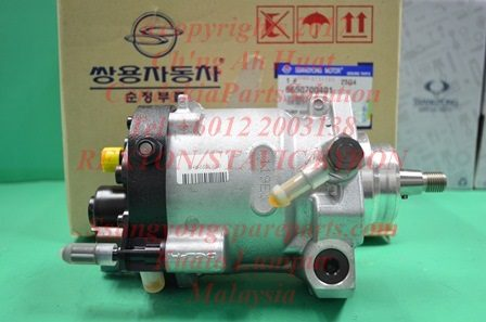 6650700401 Pump Fuel High Pressure Stavic Sv270 Rexton Rx270 Kyron M270xDi