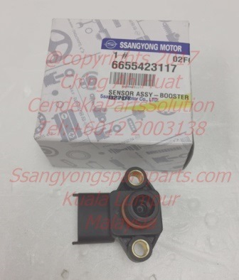 6655423117 Sensor Booster Pressure Rexton Rx270 Stavic Sv270 Kyron M270xDi