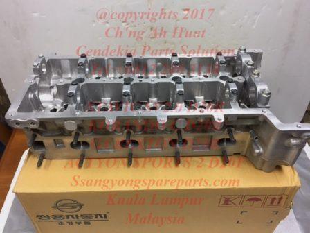 6710101020 6710102020 6710103020 6710102220 Cylinder Head Stavic Sv2.0 Korando C G4 Rexton Actyon Sports 2 D20R D20F Engine