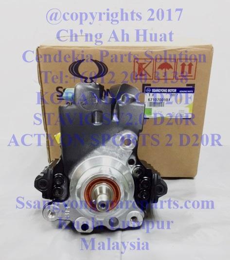 6710700101 Fuel Pump High Pressure Stavic 2.0 Korando C Actyon Sports 2