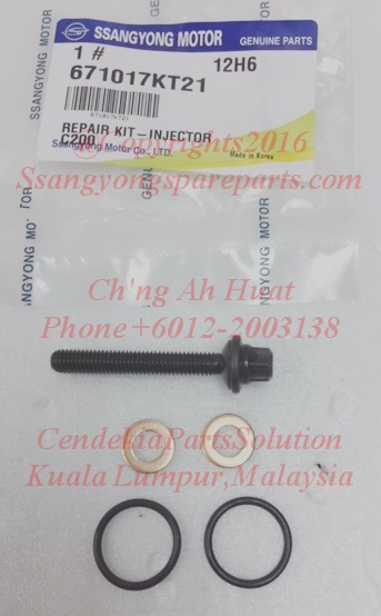 671017KT21 Washer Injector Kits