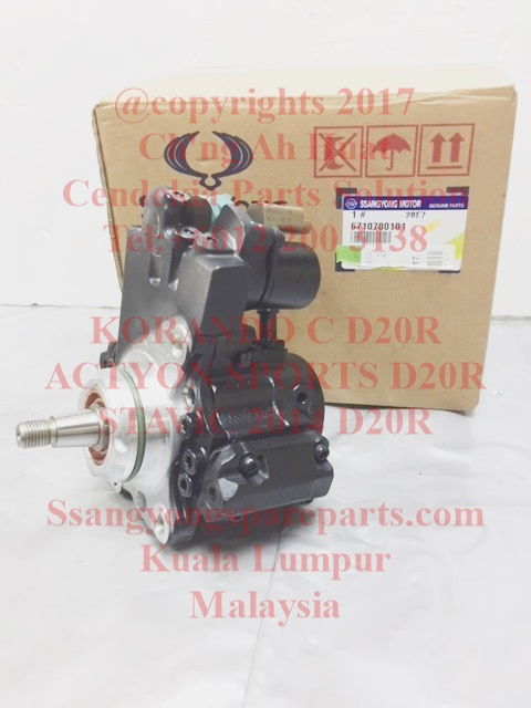 6710700101 Pump Fuel High Pressure