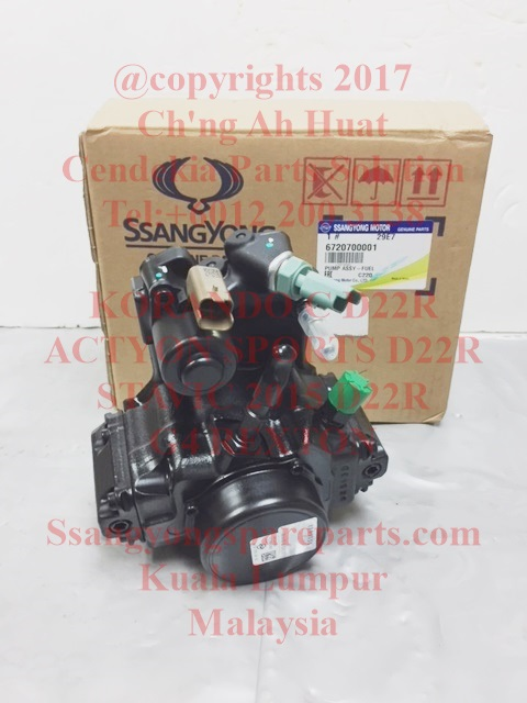 6720700001 Diesel Pump Fuel High Pressure