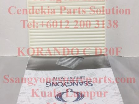 6811634000 Filter Air Assy Korando C