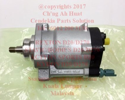 A6650700201 A6650700401 Diesel Pump Fuel High Pressure Engine D20 Engine D270 Rodius Stavic Rexton Kyron Delphi R9044Z162A Made In Spain