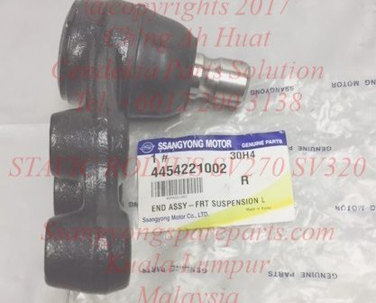 4454221000 4454221002 Ball Joints Right Side Lower Arm Suspension Lower Arm Stavic SV270 SV320