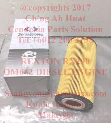 6611803309 Element Oil Filter Rexton Rx290 OM662 Diesel ...