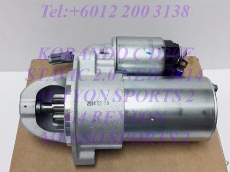 6711510201 6711510301 Starter Motor Assy Stavic 2.0 New 2014 Actyon Sports 2 Korando C G4 Rexton Musso Sports 2