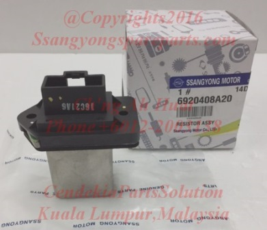 6920408A20 Resistor Assy Air Condition FATC Rx270xDi Rx290 Rx230 Rx280 Rx320