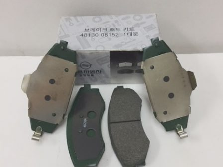 4813008150 4813008151 4813008152 Brake Pad Set Old Model Rexton Rx290 Rx230 Rx280 Rx320