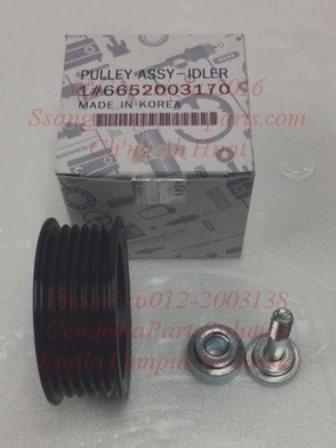 6652003170 Pulley Idler Fan Belt