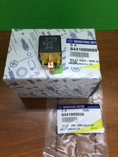 8441009000 Relay Mini Isolator 5Pin 15A Chairman W Korando C Rexton G4 Musso Sports2 Actyon Sports2 Kyron Actyon Sports1
