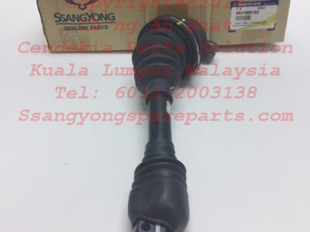 4631008100 4631008101 4631008102 4631008103 4631008104 Shaft Assy-Steering Lwr Rexton Rx270 Rx320