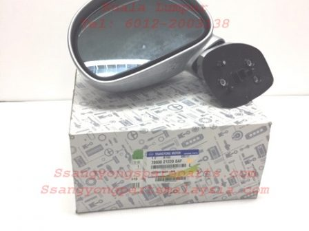 7893021220SAF Side Mirror Lh Ssangyong Stavic 2.0 New