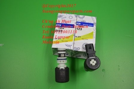 0578-640123 0578640123 Solenoid OnOff Body Valve Kyron Actyon Sports 2 Korando C Actyon Sports 1 M78 M11 6Speed Transmission
