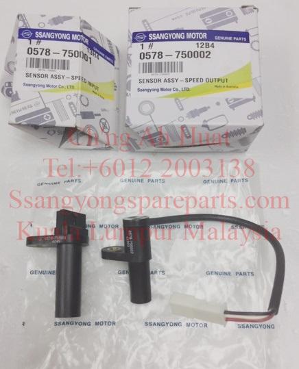 0578-750001 0578-750002 Sensor Speed Input Output 6Speed M78 Transmission DSi Actyon Sports Kyron Actyon Sports2