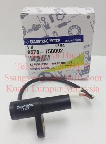 0578-750002 0578750002 Sensor Speed Output DSi 6Speed M78 Transmission Actyon Sports Kyron Actyon Sports2