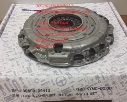 30A0009413 Clutch Cover Actyon Kyron Actyon Sports