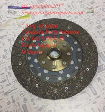 30A0009413 Clutch Disc Actyon Kyron ActyonSports
