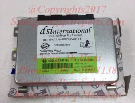 3660009000 3660009010 TM Control Unit Actyon Kyron D20 E23 6Speed A/T