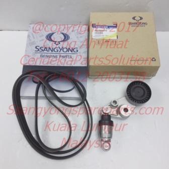 6652000370 6659970392 Ssangyong Fan Belt Tensioner Set Rexton Stavic Rodius Kryon