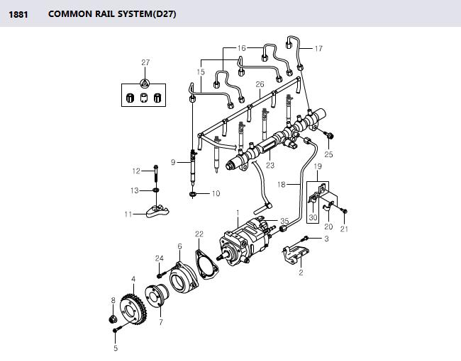 Common Rail System D270