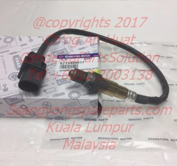 6715400017 Sensor Oxygen Heated Korando C D20F