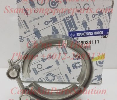 2425034111 Clamp CDPF Exhaust Pipe Korando C Catalytzed Diesel Particulate Filter Clamp