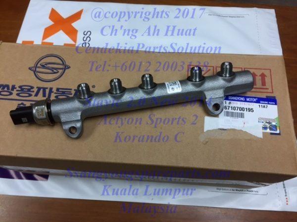 6710700195 Common Rail Fuel Stavic 2.0 New Actyon Sports 2 Korando C