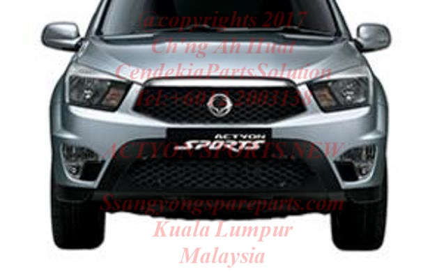 7878132500 Grille Intake Bumper Face Front Actyon Sport 2