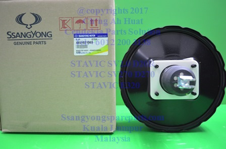 4851021000 4851021003 Booster Assy Power Brake Stavic Sv270 SvE320 Sv2.0