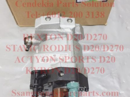 6650700201 6650700401 Pump Fuel High Pressure Rexton Stavic Rodius Kyron D20 Engine D270 Engine