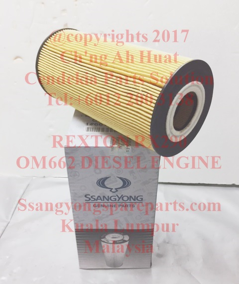 6611803309 Element Oil Filter Rexton Rx290 OM662