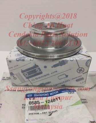 0585-124011 Piston Front Servo Kyron BTR M74 Actyon Sports M78 6Speed DSI
