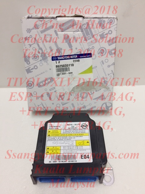 8625035110 SDM Unit Tivoli XLV