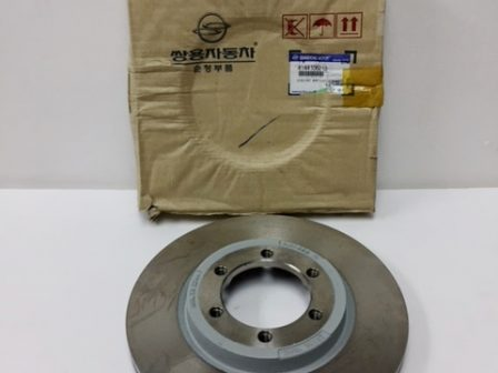 4144106211 4144106210 Brake Disc Front Old Model Rexton Rx290 Rx230 Rx280 Rx320