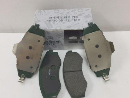 4813008150 4813008151 4813008152 Brake Pad Set Old Model Rexton Rx290 Rx230 Rx280 Rx320