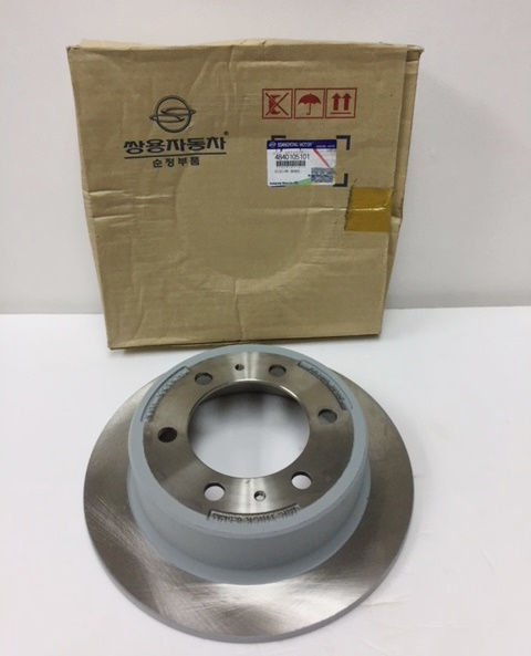4840105101 Brake Disc Rear Musso Korando Rexton Old Model Rx290 Rx230 Rx280 Rx320
