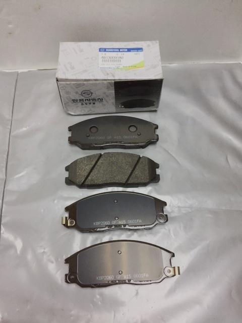 48130091A0 Brake Pad Set Front Rexton Rx270 Rx2 Actyon Sports1 Kyron