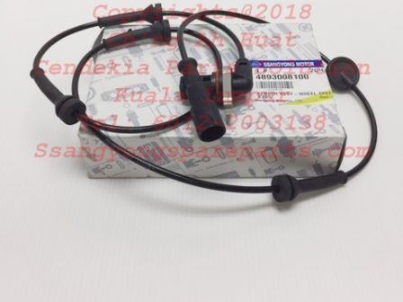 4893008100 Sensor ABs Wheel Front Rexton Rx290 Rx270 Rx230 Rx280 Rx320 ABS ESP 2004MY