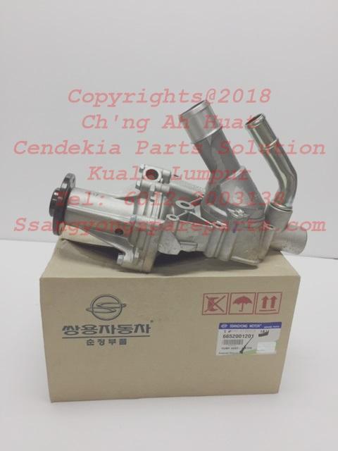 6652001001 6652001201 Water Pump Assy Rexton Rx2 Rx270 Stavic Sv270 Kyron Actyon Sports1