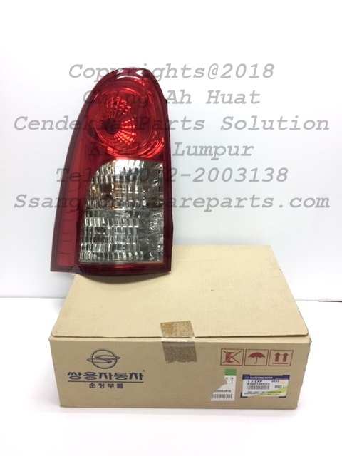 8360132023 Lamp Assy Rear Combination+Back Up Actyon Sports Pick Up